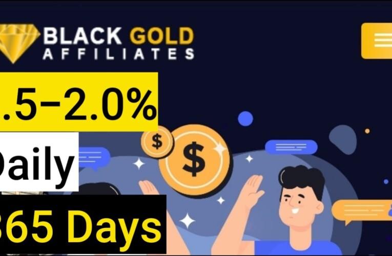 BlackGold  Affiliates Review: New Legit Earning Platform!