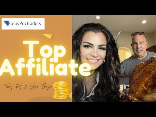 """🛑 TE CUENTO HOY…un """"SECRETO MILLONARIO """" ▶️ Copy PRO Traders by Top Affiliates Tony & Elena"""